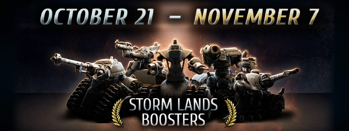 Storm Lands Boosters