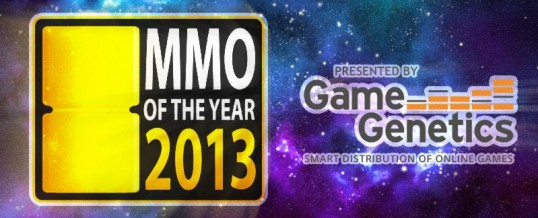 Nominated for the MMO of the Year Award 2013